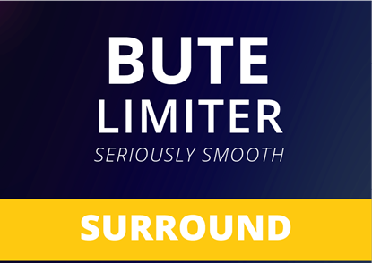 Bute Limiter - Seriously Smooth Limiting Surround
